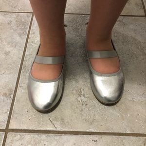 Other - Silver Butterfly Shoes 🦋